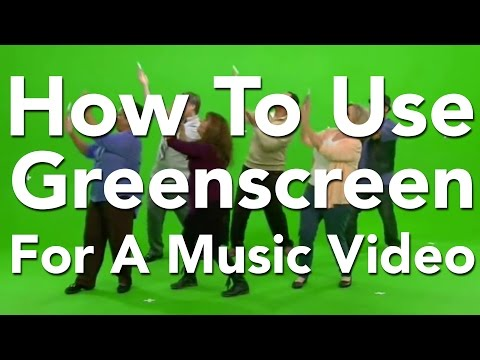 Using Green screen for a dance or music video