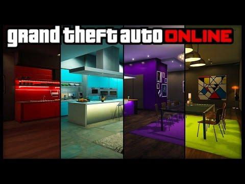 GTA 5 Online ALL NEW APARTMENT CUSTOMIZATION! 8 Different Custom Options Showcased! (Executives DLC)