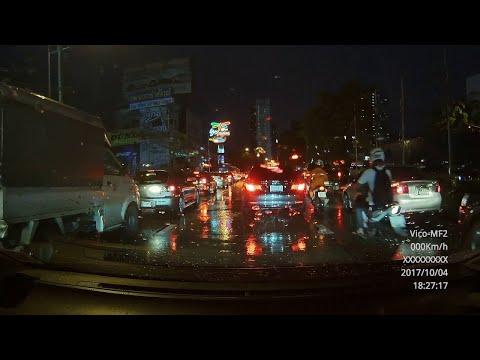 Man Wrecks Bike at High Speed in Traffic || ViralHog