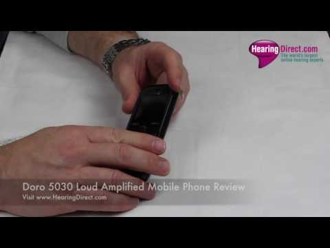 Doro 5030 Loud Amplified Mobile Phone Review