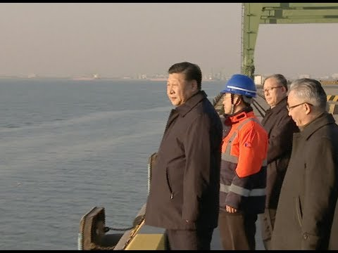 President Xi Inspects Tianjin, Beijing Sub-center