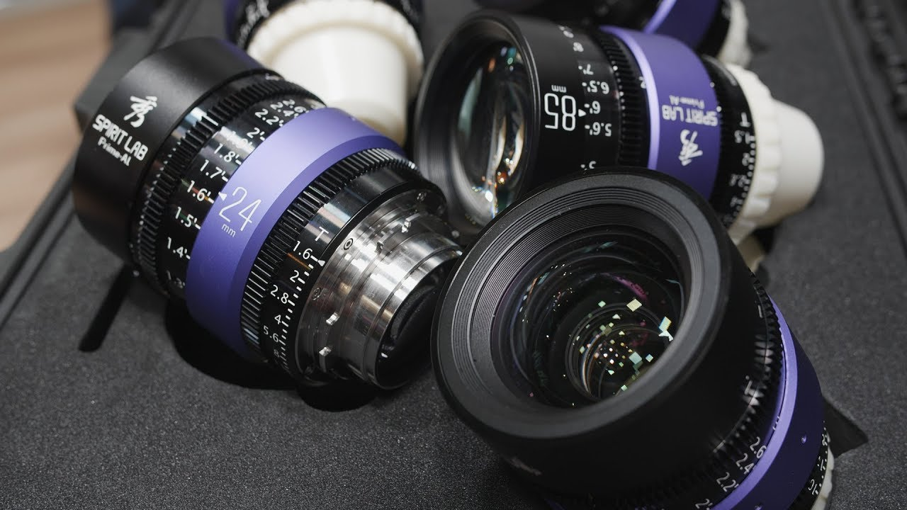 IBC 2018: Spirit Lab Prime-Al Cine Primes for Full-Frame Cameras