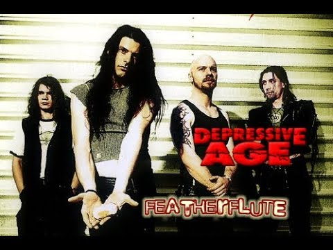 Depressive Age - Featherflute - Lyric Video