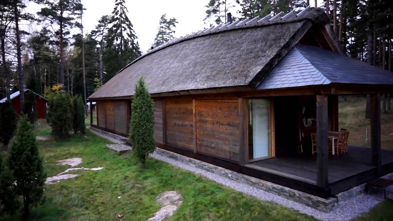 Koptercam viking house youtube for Modern long house plans