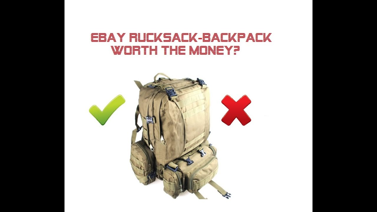 9b12df7c85d ebay Hiking Bugout Bag Review. Worth the buy  - YouTube