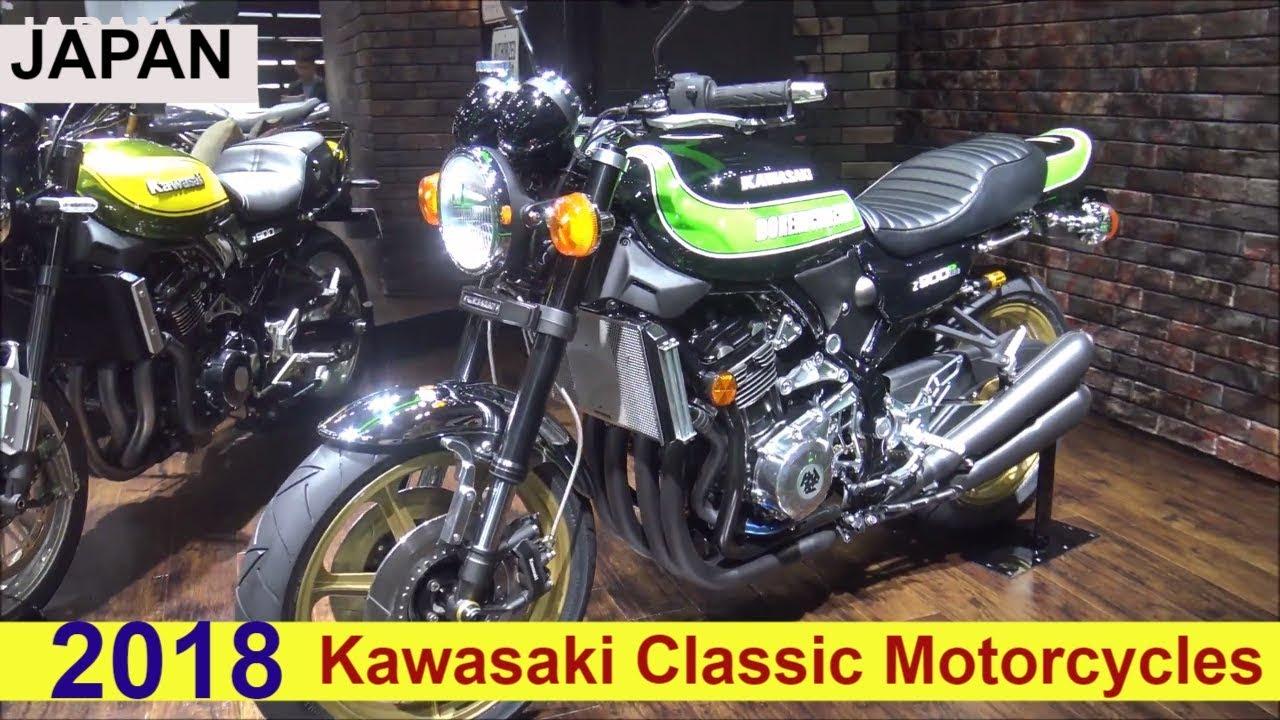 The 2018 Kawasaki Z900 Classic Motorcycles