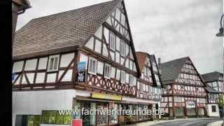 Naumburg: Fachwerktour durch die Altstadt in Nordhessen mit zahlreichen Fachwerkhäusern