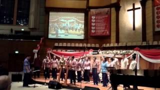 Wakhu bhim choir dari papua