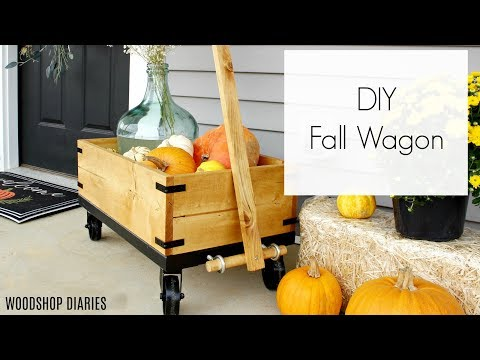 How to Build a Little Wooden Wagon