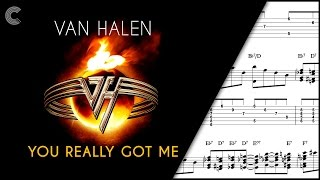 Guitar  - You Really Got Me - Van Halen - Sheet Music, Chords, & Vocals