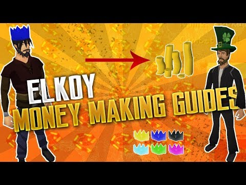 Elkoy RSPS | BEST Money Making Guides/Methods 2018 | + GIVEAWAY!