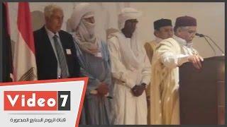 البيان الختامى لمؤتمر قبائل ليبيا: البرلمان الممثل الشرعى للبلاد