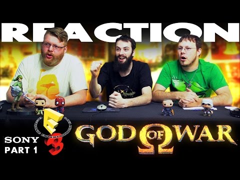 God of War Trailer REACTION!! Sony E3 2016 Conference 1/12