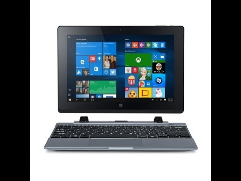 Acer One S1002 2-in-One Tablet PC + Camera Test