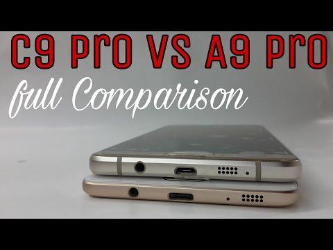 Galaxy C9 Pro Vs A9 Pro full Comparison