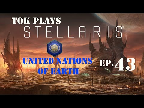 Tok plays Stellaris - United Nations of Earth ep. 43 - Federation Ship Designs