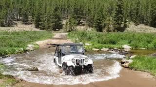 Roxor goes thru Colorado Stream