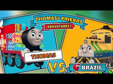Thomas & Friends: Adventures! - Birthday Thomas Vs Raul From Brazil