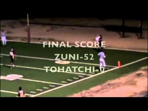 Zuni High School Football Highlight Flim (2010-1211) Part 2/2