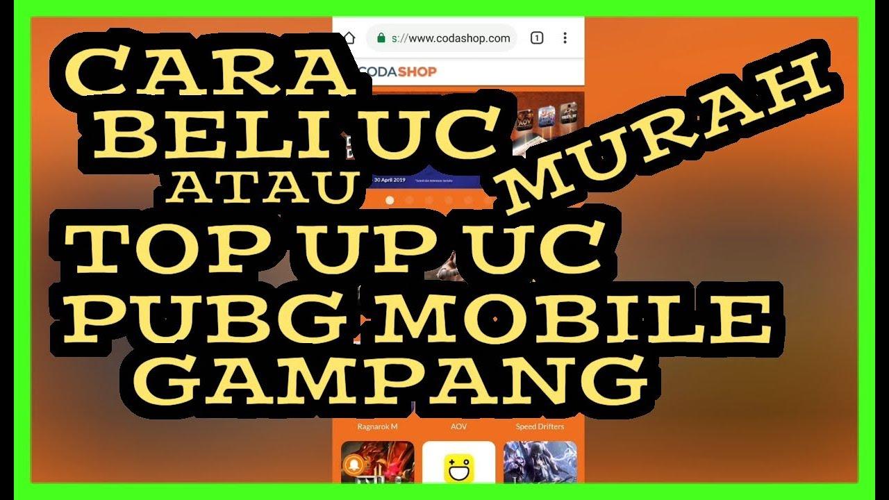 CARA BELI UC PUBG MOBILE GAMPANG DAN MURAH - PUBG MOBILE || CODASHOP