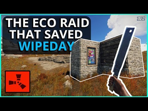 This Eco-Raid Saved Our Start On WipeDay! Rust Survival Gameplay