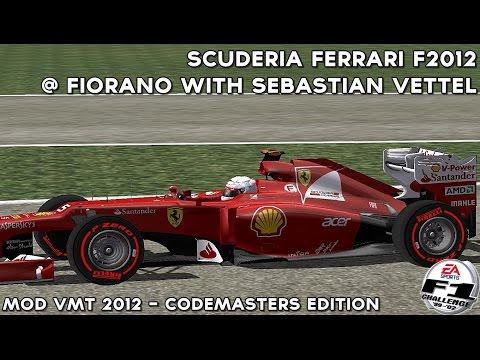 [F1C] Scuderia Ferrari F2012 @ Fiorano with Sebastian Vettel [HD]