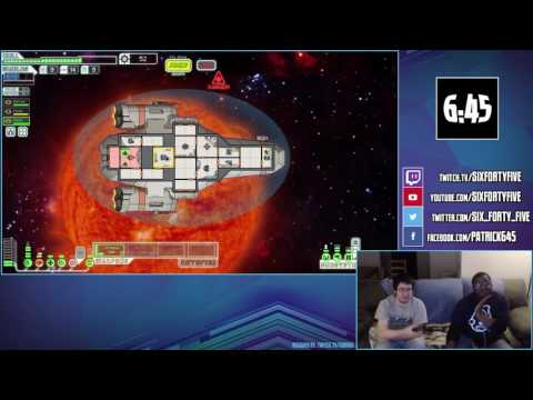 FTL - Captain Bates and First Officer Smith button mash their way through the galaxy