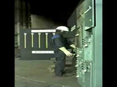 Ultra Slow Motion Arc Flash 480V
