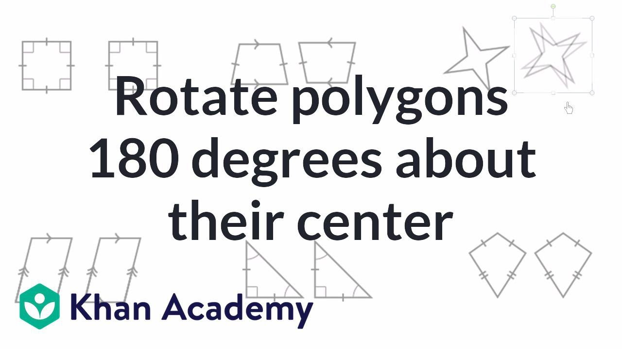 small resolution of Intro to rotational symmetry (video)   Khan Academy
