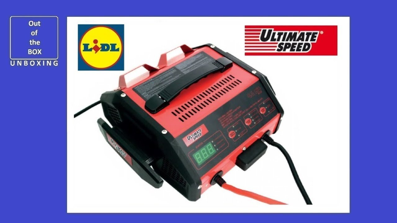 UltimateSpeed Battery Charger with Jump Start Function ULG