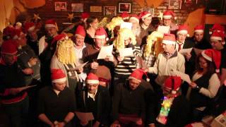 The DirectSmile Team Performs Jingle Bells