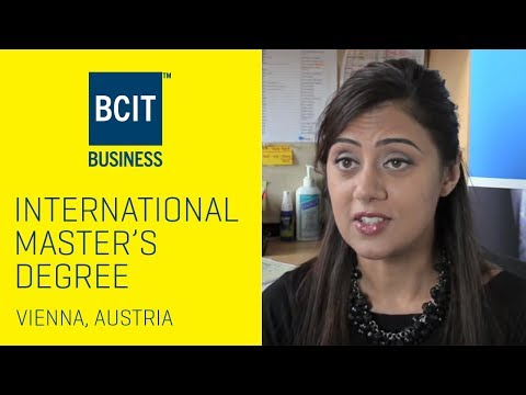 Mandy - International Banking and Finance Master's Degree in Austria | BCIT SCHOOL OF BUSINESS
