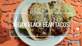 Vegan Black Bean Quinoa Tacos