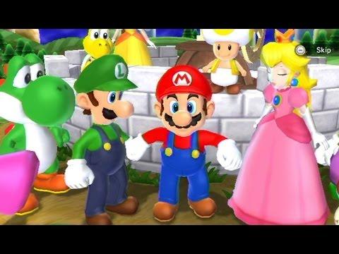 Mario Party 9 - Solo Mode Walkthrough Part 1 - Toad Road