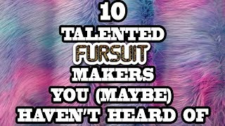 10 Talented Fursuit Makers You (Maybe) Haven't Heard Of