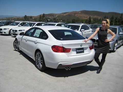 """NEW BMW 428I Gran Coupe M Sport - 19"""" M Wheels Review - Coral Red Interior!"""