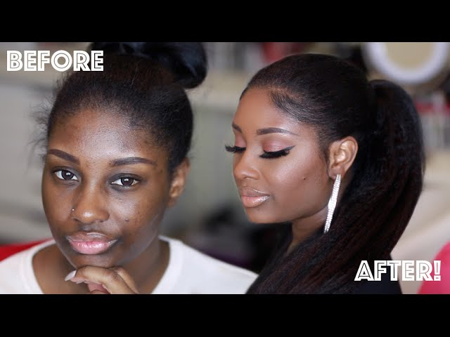 Get Ready With Me Fresh Beat Sleek Ponytail Using Knappy Hair