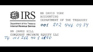 Fake I.R.S. withholding TAX - PUBLIC WARNING by Economic Frauds Inc / update