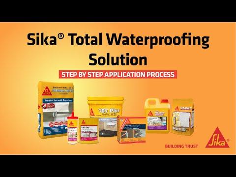 Sika® Total Waterproofing Solution