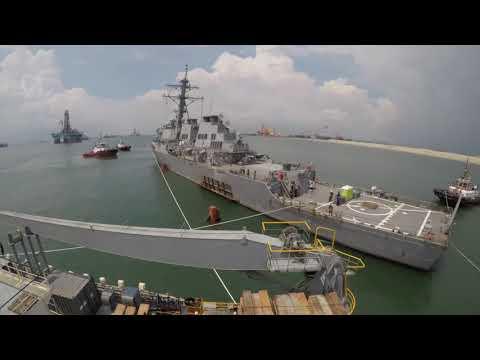 USS John S. McCain Heavy Lift