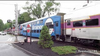 RARE! MBTA Extra Through Medfield MA! (5/29/13)
