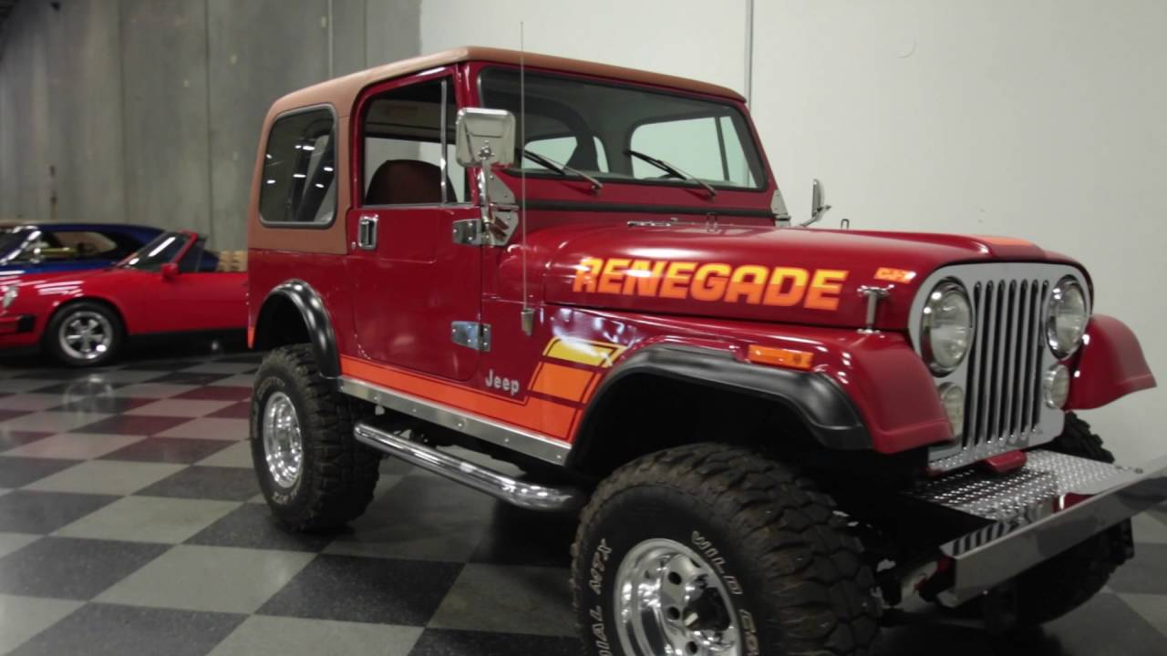 3237 atl 1981 jeep cj7 renegade - youtube