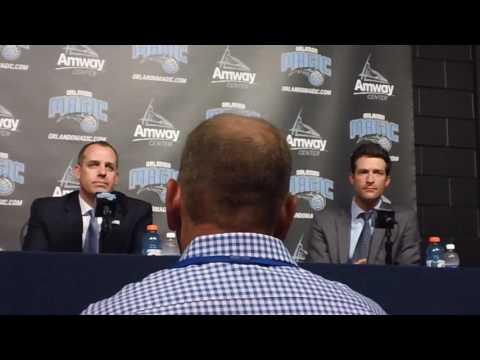 Frank Vogel Introduced as Orlando Magic Head Coach