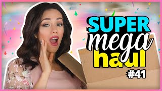 MAQUILLAJE ROTO, ROPA THANK U, NEXT Y BOTAS DORADAS?! | SUPER MEGA HAUL #41