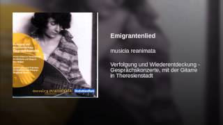 Emigrantenlied