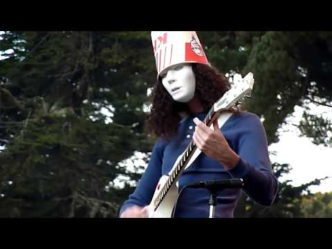 Buckethead - Hardly Strictly Bluegrasss Festival 2011 FULL SHOW TAPED FROM FRONT ROW
