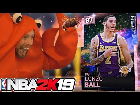 they finally gave us Lonzo Ball.... NBA 2K19