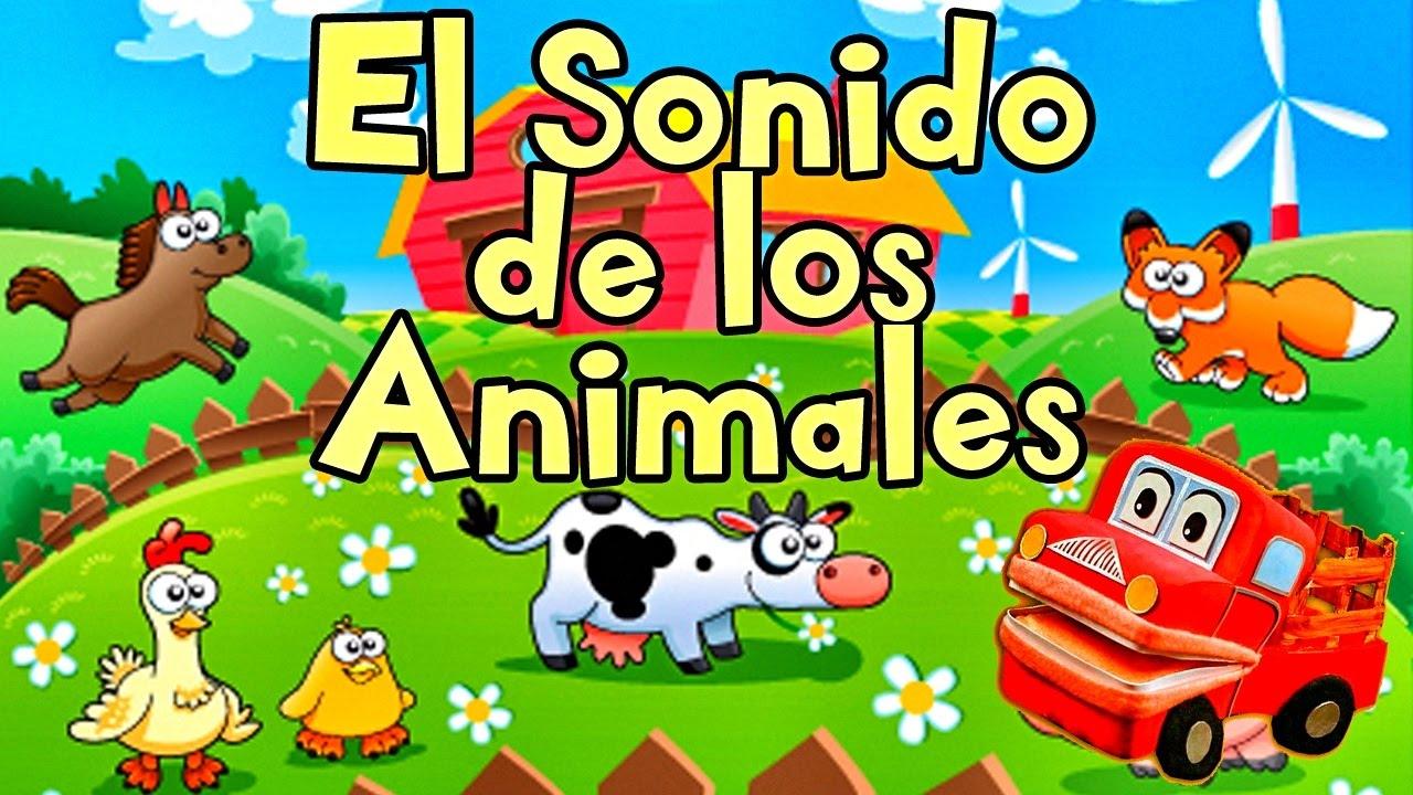 Sonidos de Animales para Niños - Aprende el sonido los Animales - Barney El Camión #