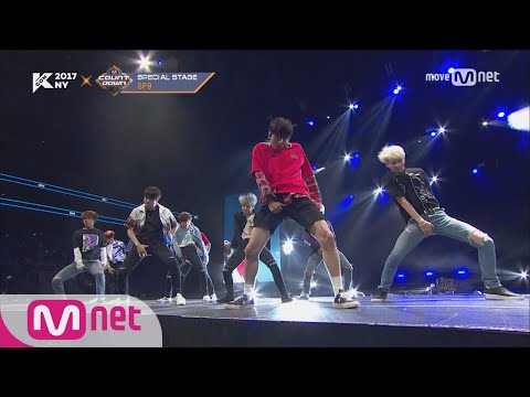 [KCON NY] SF9 - CALL ME BABY+Boy In Luv ㅣ KCON 2017 NY x M COUNTDOWN 170706 EP.531
