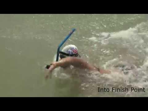 PON XIX 2016 10.000 Meter Men Finswimming: Rodrick Luhur (Gold Medal)
